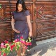 Camélia Benattia enceinte de 4 mois. Instagram, le 3 juin 2020.