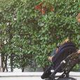 Exclusif - Pippa Middleton, 37 ans, et son fils Arthur, dans le quartier de Chelsea à Londres, le 11 septembre 2020.