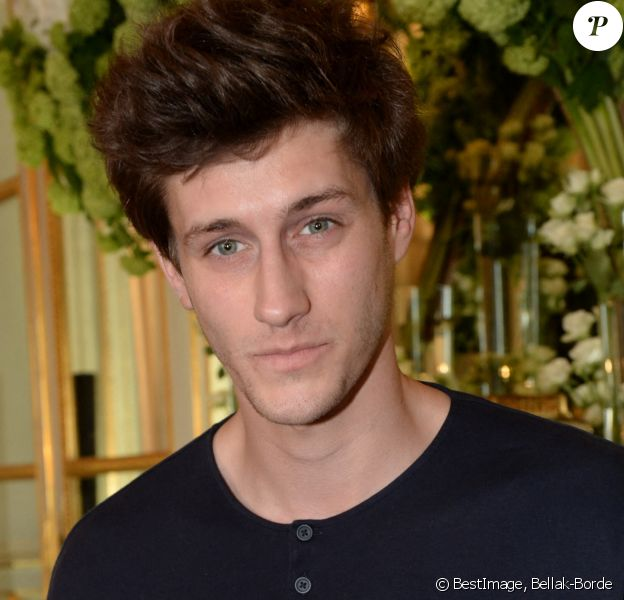 "Exclusif - Jean-Baptiste Maunier - Soirée de lancement de la collection de maroquinerie ""Emily by The Kooples"" à l'hôtel de Crillon à Paris, France. © Bellak-Borde/Bestimage"