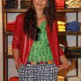 Yelena Noah- égérie de Tommy Hifliger lors de la nouvelle collection à paris en avril 2012.