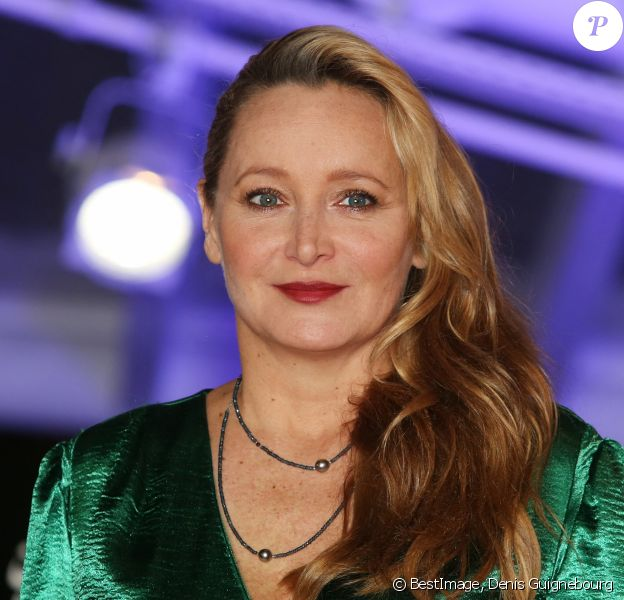 "Julie Ferrier - Tapis rouge du film ""Green Book"" lors du 17ème Festival International du Film de Marrakech. © Denis Guignebourg/Bestimage"