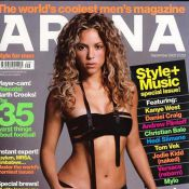 Shakira : Des poses sexy... très sexy... pour vous souhaiter une douce nuit !