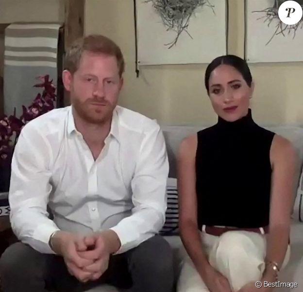 Le prince Harry, duc de Sussex, et Meghan Markle, duchesse de Sussex invités dans un podcast dédié à la santé mentale, automne 2020