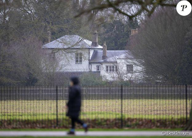 Le Frogmore Cottage après le départ du prince Harry et Meghan Markle outre-Atlantique. Le 14 janvier 2020.