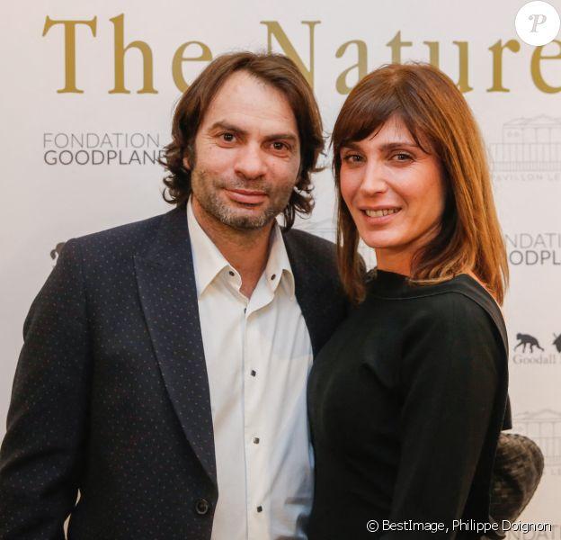 """Exclusif - Christophe Dominici et sa femme Lauretta - Soirée """"The Nature Gala - Fondation GoodPlanet"""" au Pavillon Ledoyen à Paris. © Philippe Doignon/Bestimage"""