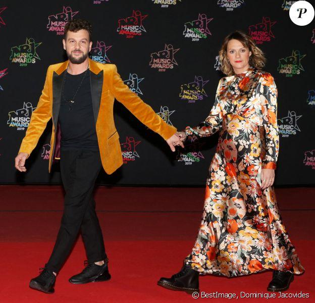 Claudio Capéo et Aurélie Willgallis - 21ème édition des NRJ Music Awards au Palais des festivals à Cannes © Dominique Jacovides/Bestimage