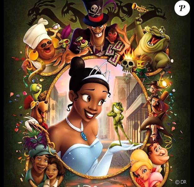 La princesse et la grenouille des studios Disney