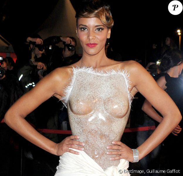 Shy'm aux NRJ Music Awards © © Guillaume Gaffiot /Bestimage