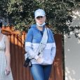 Exclusif - Katy Perry visite avec une amie une propriété en vente pour 4 millions de dollars dans le quartier de Santa Barbara à Los Angeles pendant l'épidémie de coronavirus (Covid-19), le 4 octobre 2020   Exclusive - The pop star is seen for only the second time after giving birth a month ago to a baby girl with O. Bloom. Katy and her real estate friend toured the  million dollar 2 bed, 2 bath beach home as Orlando looked after baby Daisy. 4th october 2020