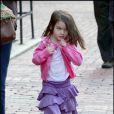 Katie Holmes passe l'après-midi avec sa mère Kathleen Holmes et sa petite Suri Cruise à Boston le 7 octobre 2009