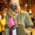 M Pokora (Matt Pokora) arrive à l'émission TPMP (Touche pas à mon poste) à Paris le 7 décembre 2020. © Justine Sacrèze / Bestimage