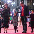 Prince William, Kate Middleton et leurs enfants sur le tapis rouge du  London's Palladium Theatre. 11 décembre 2020