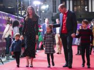 Kate Middleton et William : George, Charlotte et Louis, vedettes du tapis rouge à Londres