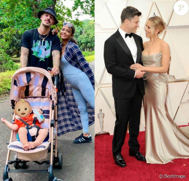 De Scarlett Johansson à M. Pokora et Christina Milian... Retour sur les mariages people de l'année 2020.