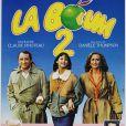 """Affiche du film """"La Boum 2"""" en 1982, avec Claude Brasseur, Sophie Marceau et Brigitte Fossey."""