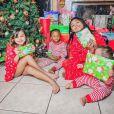 Le premier Noël de M. Pokora papa (décembre 2020).