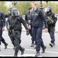 Alain Bernard a été l'objet d'une prise d'otage fictive, le 11 octobre, à Paris.