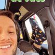 """Vianney a célébré les 10 millions de vues de son clip """"Beau papa"""" avec sa belle-fille sur Instagram le 26 décembre 2020."""