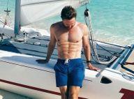 David Guetta : Papa torse nu et musclé avec ses deux enfants