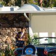 """Exclusif - Harry Styles, Florence Pugh sur le tournage du film """"Don't Worry Darling"""" à Palm Springs, le 1er décembre 2020."""