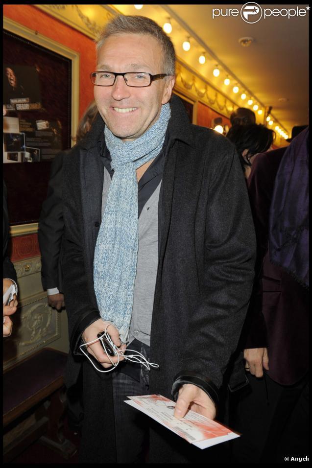 Laurent ruquier lors du spectacle au th tre d jazet de gregory charles paris le 12 octobre 2009 - Ou habite laurent ruquier ...