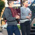 Exclusif - Amber Heard et sa compagne Bianca Butti sortent faire un pique-nique dans un parc de San Diego avec des amies le 6 janvier 2021.