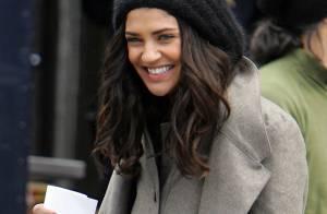 Gossip Girl : Des looks pas terribles dans le froid new-yorkais... Mais Jessica Szohr sauve la mise ! Ouf !!!