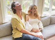 Emma Roberts maman : première photo avec son petit garçon, Garrett Hedlund aux petits soins