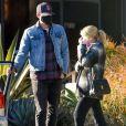Exclusif - Emma Roberts, Garrett Hedlund - Emma Roberts est repérée pour la première fois après avoir accueilli son petit garçon à Los Angeles le 11 janvier 2021.