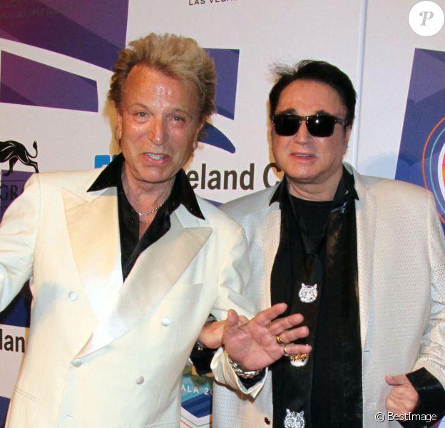 Siegfried Fischbacher et Roy Horn - People au 19ème Gala Power of Love à Las Vegas