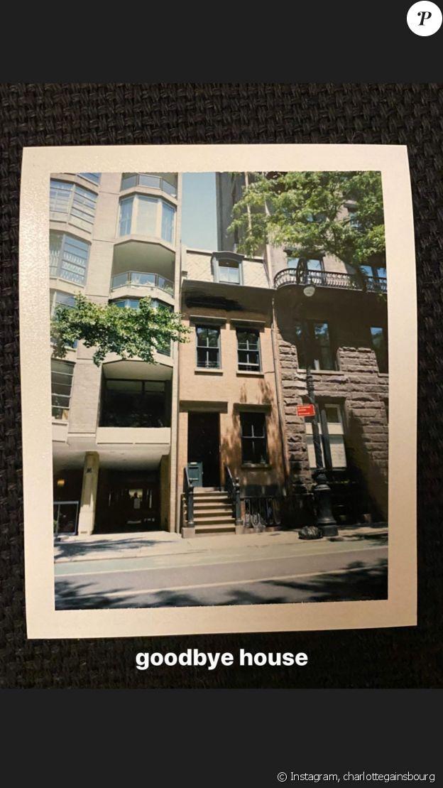 La maison de Charlotte Gainsbourg à New York, sur Instagram, le 5 juin 2020.