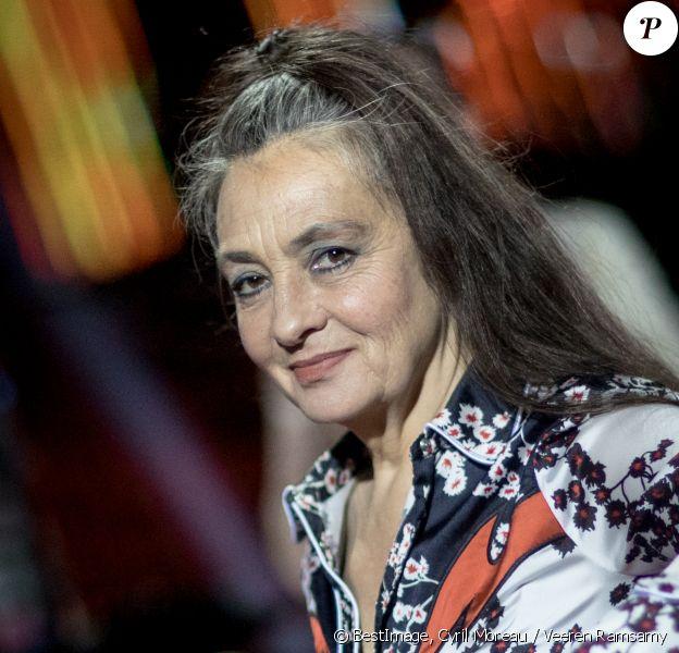 """Exclusif - Catherine Ringer - Backstage - Enregistrement de l'émission """"Tous ensemble pour la musique"""" pour la fête de la musique. © Cyril Moreau / Veeren Ramsamy / Bestimage"""