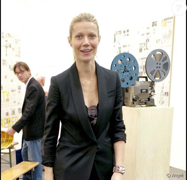 Gwyneth Paltrow à la soirée Frieze Art Fair, le 14 octobre à Londres !