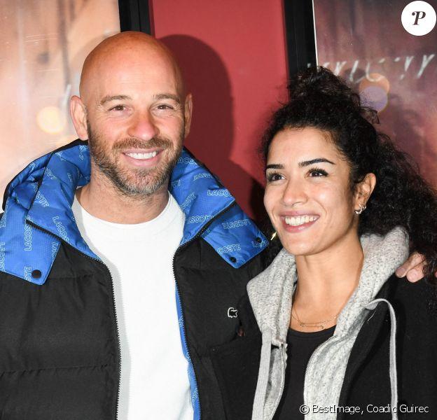"""Franck Gastambide et sa compagne Sabrina Ouazani - Avant-première du film """"Docteur"""" au cinéma Publicis à Paris. © Coadic Guirec/Bestimage"""