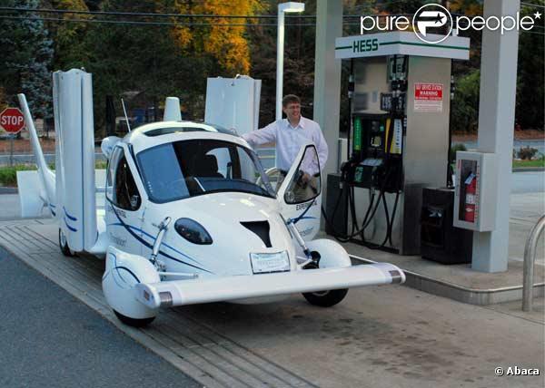 Voici la première voiture volante !
