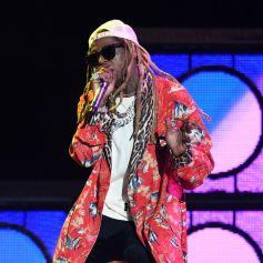 Lil Wayne en concert au Coral Sky Amphitheatre à West Palm Beach en Floride, le 25 juillet 2019.