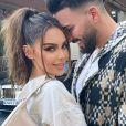 Nabilla Benattia et Thomas sur Instagram.