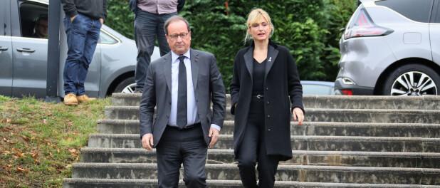 François Hollande et Julie Gayet : Rare sortie pour le couple, avec Benjamin Biolay