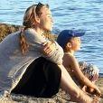 Aurélie Vaneck avec sa fille Charlie, photo Instagram du 24 juin 2020