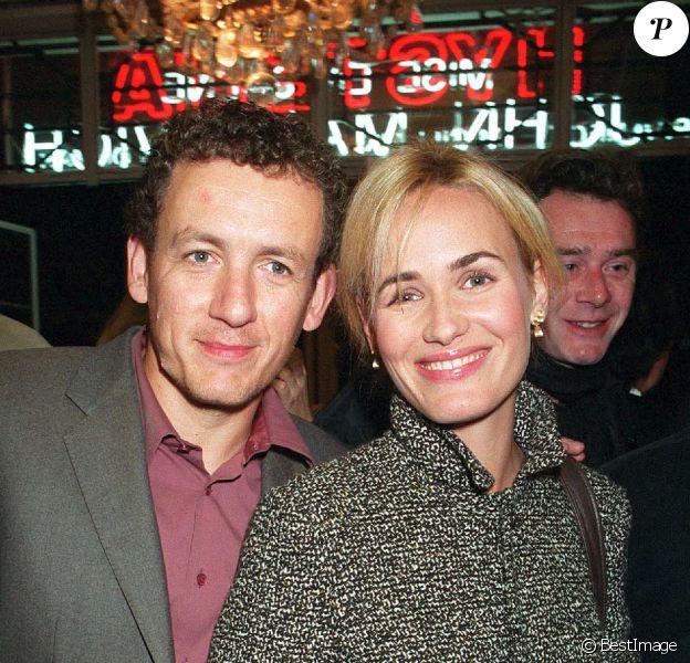 Dany Boon et Judith Godrèche - Générale d'Hysterie et dîner au Man Ray.