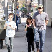 Christian Slater : sur les écrans ou en amour, c'est dur pour lui... mais en papa, il est top !