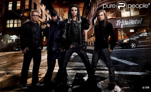 Le groupe Tokio Hotel.