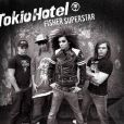 Le groupe Tokio Hotel sur la pochette de leur nouvel album