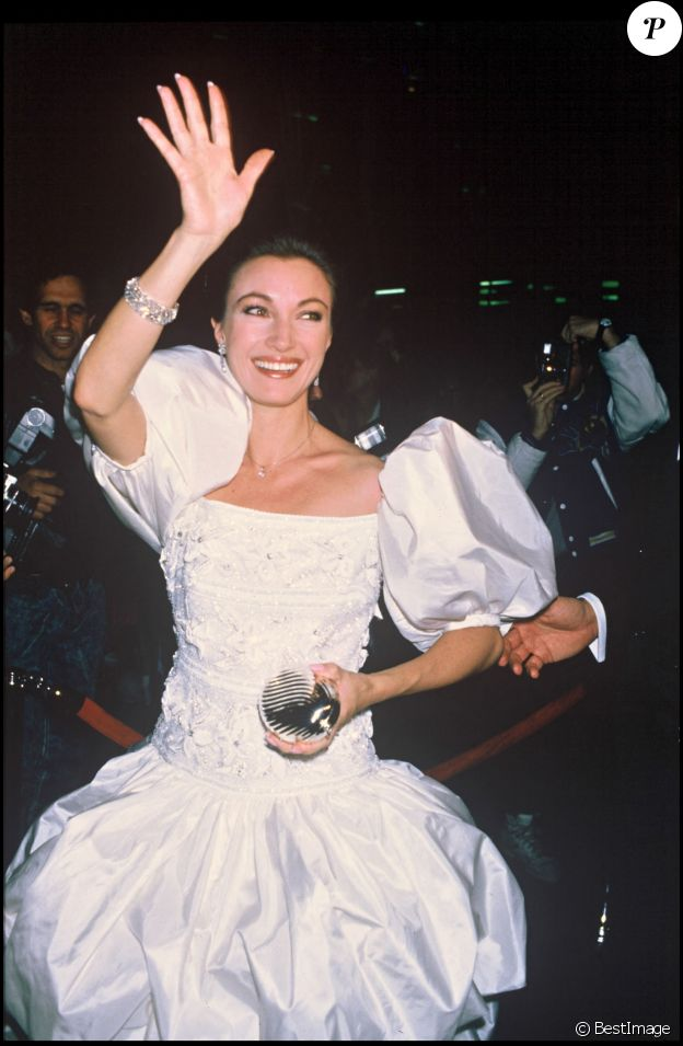 Jane Seymour à New York en 1988.