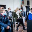 La Première Dame Brigitte Macron (présidente de la Fondation des hôpitaux de France) visite la maison des adolescents du Loir-et-Cher, située rue des écoles, à Blois, France, le 3 février 2021. La structure a bénéficié, lors de sa création, d'une aide financière de l'opération Pièces jaunes. © Cyril Moreau/Bestimage
