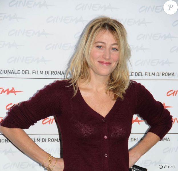 Valeria Bruni-Tedeschi à l'occasion du photocall du film Les Regrets, dans le cadre du 4e Festival International du Film de Rome, le 19 octobre 2009 !