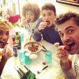 Gil Alma en famille sur Instagram. Le 20 janvier 2021.