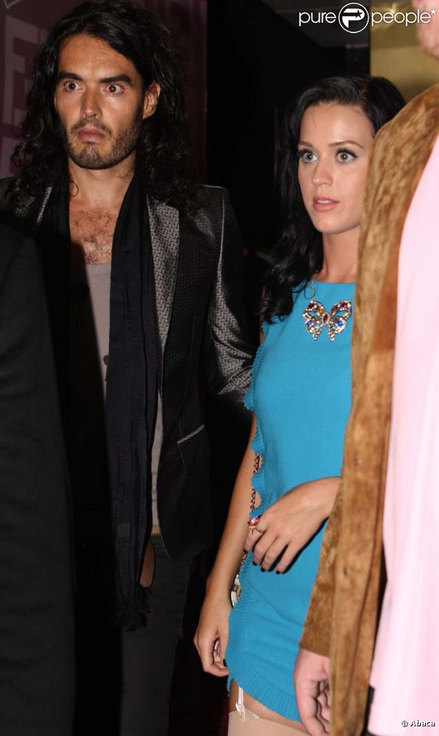 Russell Brand et Katy Perry