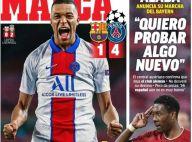 Barça - PSG : Kylian Mbappé phénoménal, plébiscité par la presse espagnole
