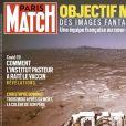 """Couverture du magazine """"Paris Match"""", numéro du 25 février 2021."""